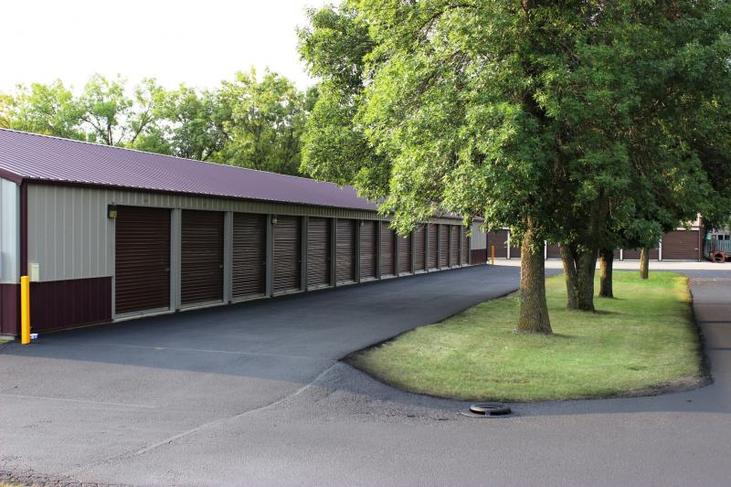 9 mature trees on Safe-N-Secure Storage property